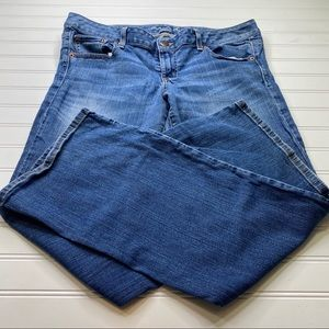 American eagle women's stretch jeans size 14